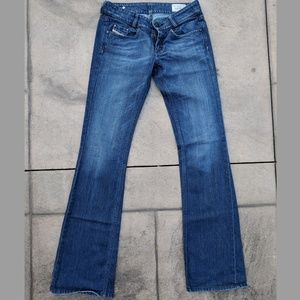 Diesel Louvely Bootcut Jeans 27x34